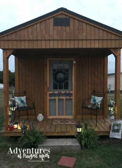 My Blog Cabin / She Shed Update