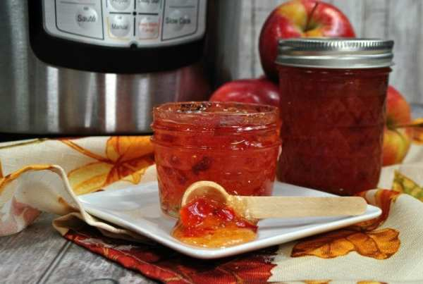 Apple Pepper Jelly Instant Pot Recipe from North Carolina Lifestyle Blogger Adventures of Frugal Mom