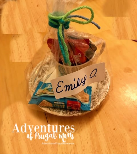 Unique Party Favors for the Big Blog Cabin Reveal from North Carolina Lifestyle Blogger Adventures of Frugal Mom
