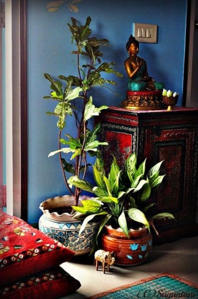 DIY East Asian Home Decor from North Carolina Lifestyle Blogger Adventures of Frugal Mom