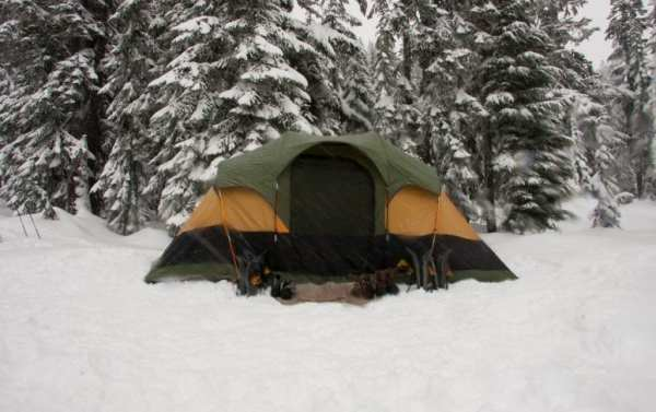 Essentials for Planning a Winter Camping Trip from North Carolina Travel Blogger Adventures of Frugal Mom