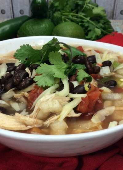 Easy Mexican Soup
