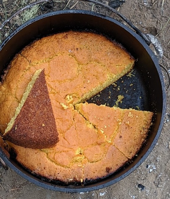 Dutch Oven Cornbread