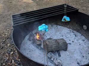 roasting peeps