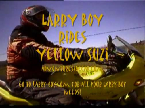 There's no hero quite like Larryboy