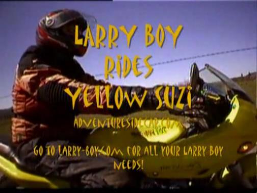 Throwback Thursday – Larryboy
