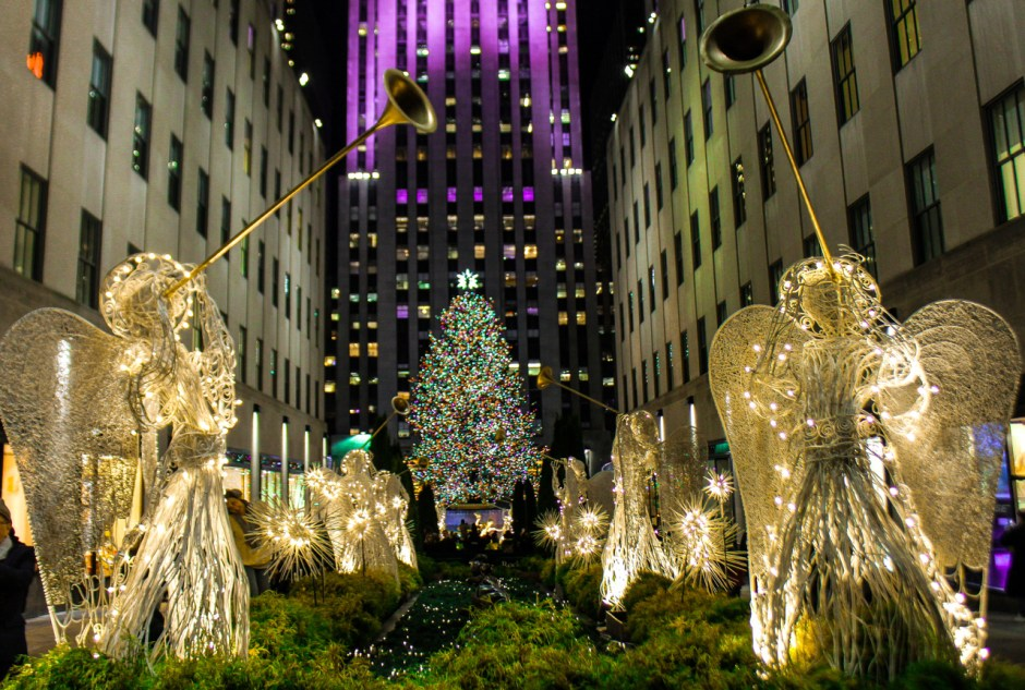 Christmas, Rockefeller Center, New York, NYC