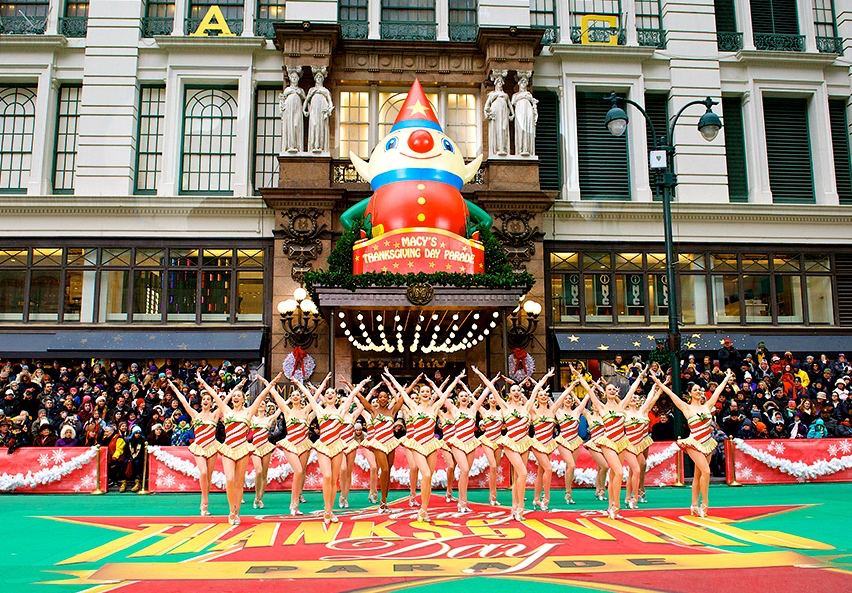 Rockettes, Macy's Thanksgiving Day Parade, NYC