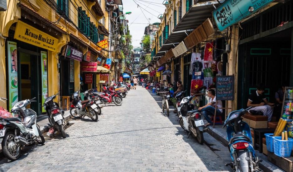 Hanoi, Old Quarter<Vietnam
