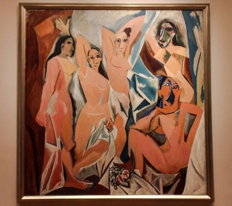 "Picasso: ""Les Demoiselles d'Avignon"" MoMa, NYC"