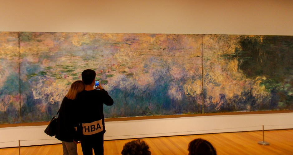 Monet Water Lillies, MoMa, NYC