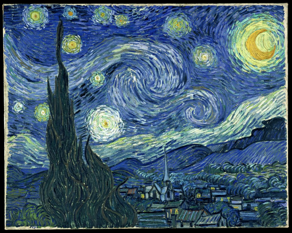 "Van Gogh ""The Starry Night"". MoMa, NYC"