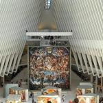The first art installation in the World Trade Centers Oculushellip