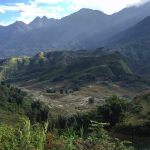 The spectacular landscape of Vietnams SaPa region