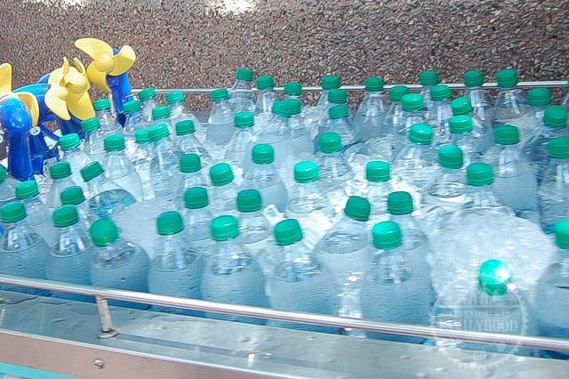 Bottled Water sold at Disney Parks