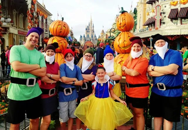 Disney Halloween Costumes for the Whole Family