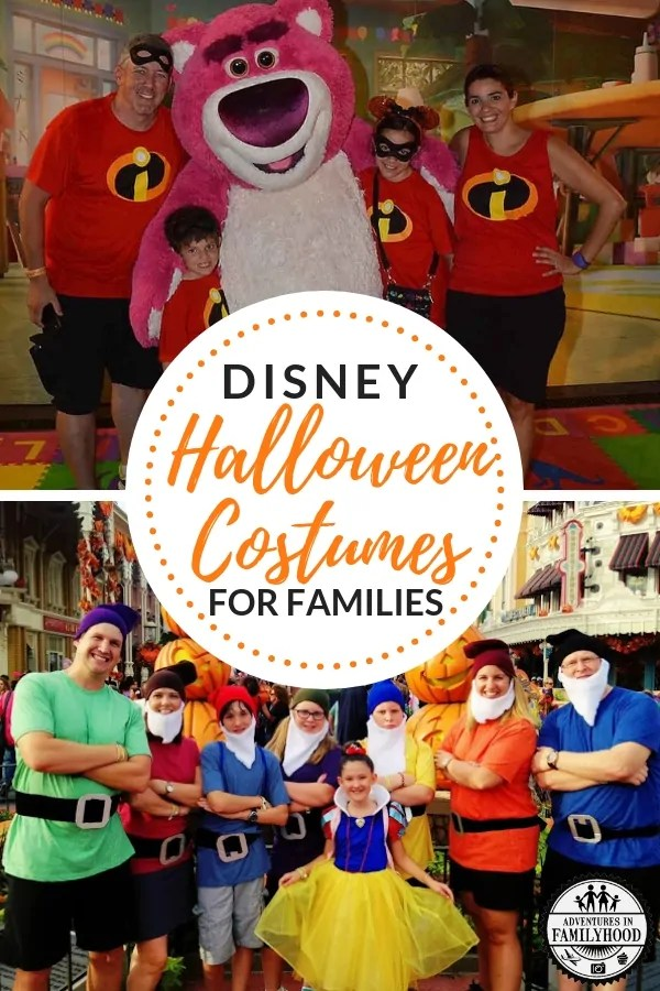 Disney Halloween Costumes for Families
