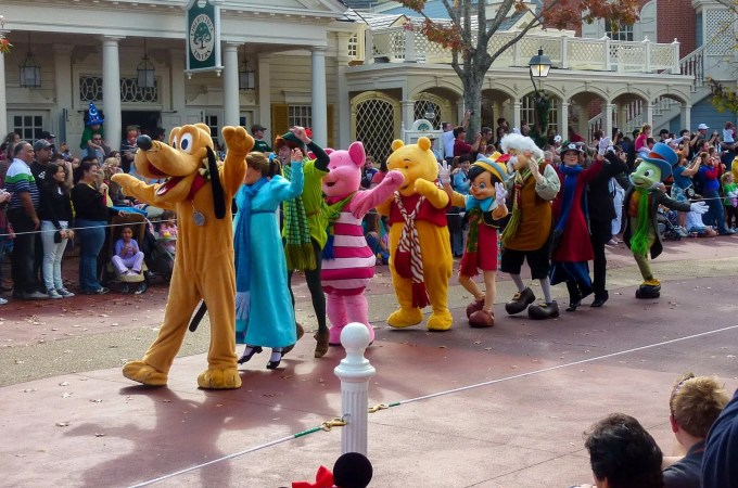 Wordless Wednesday – Characters on Parade
