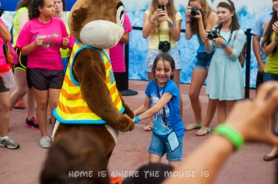 Bella Dances with Chip at Coolest Summer Ever Dance Party