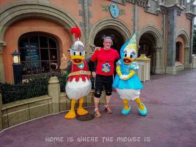 Posing with Sir Donald and Princess Daisy