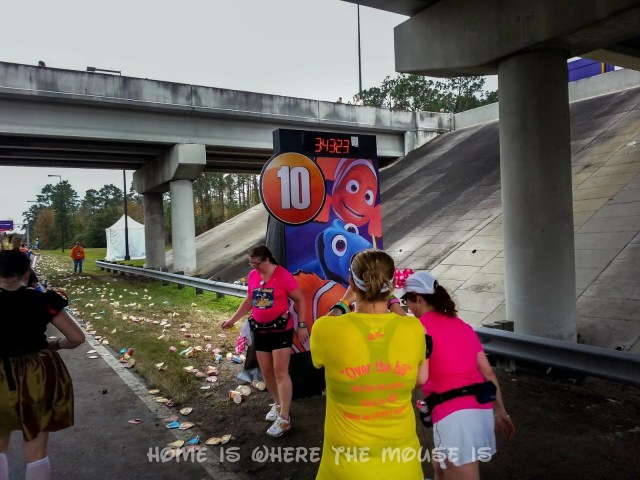 Finding Nemo characters on the 10th Mile Marker