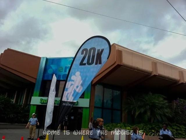20k Marker inside Epcot