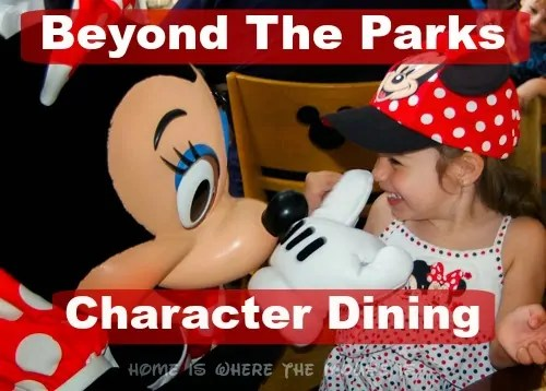 Beyond the Parks | Character Meals