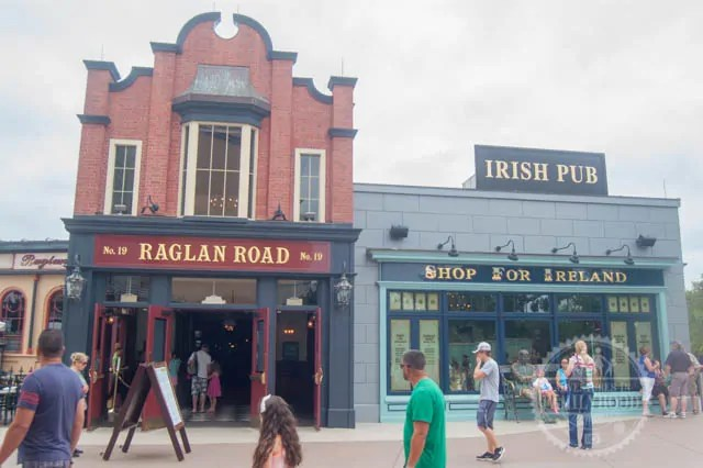 Raglan Road Restaurant and Pub at Walt Disney World