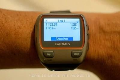 My Garmin Watch is my Training Buddy