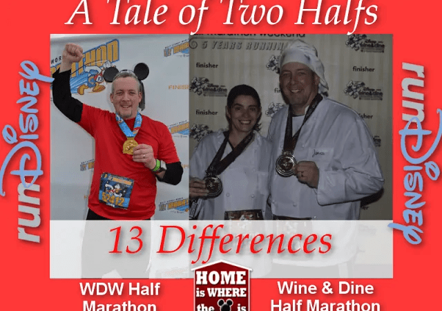 A Tale of 2 Halfs | 13 Differences Between the WDW and Wine & Dine Half Marathons