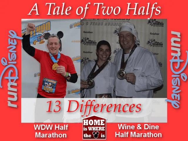 13 Differences between the WDW Half and Wine & Dine Half Marathons | Home is Where the Mouse is