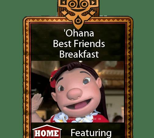 'Ohana Best Friends Breakfast