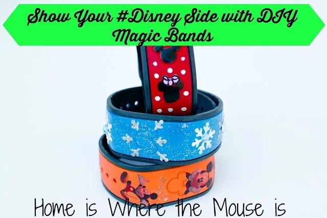 Show Your #DisneySide with DIY Decorated MagicBands