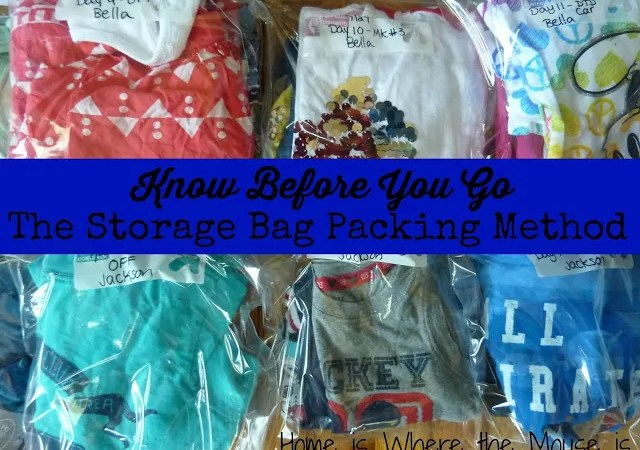 How to Make Packing Easier with Storage Bags