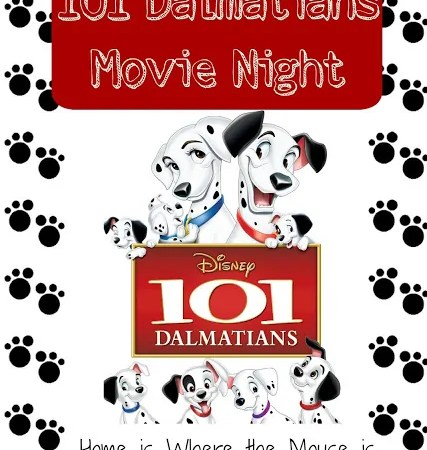 101 Dalmatians Movie Night