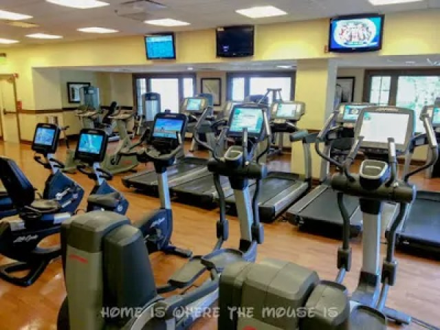 Sturdy Branches Fitness Center at Disney's Wilderness Lodge