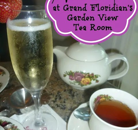 Afternoon Tea at Grand Floridian's Garden View Tea Room