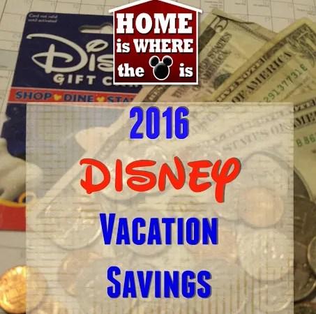Disney Vacation Savings Challenge