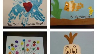 Disney Hand-print Valentines
