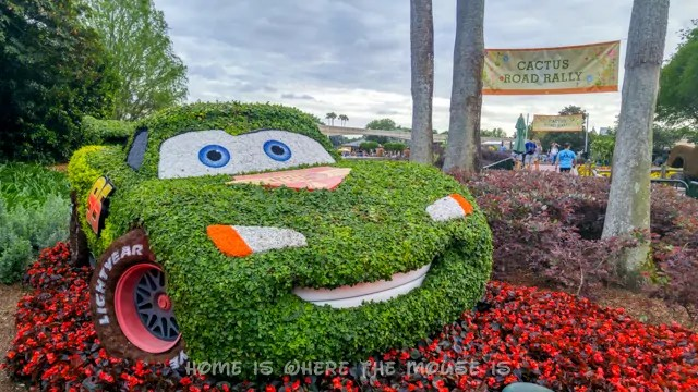 Cactus Road Rally play area and garden at the Epcot International Flower & Garden Festival