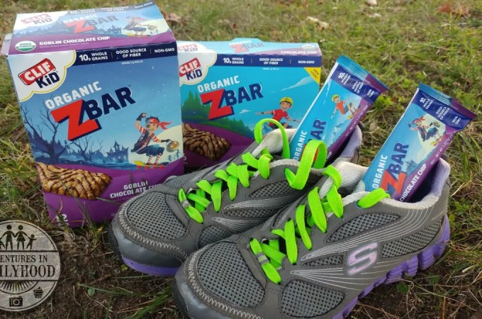 Running as a family is a way to get our kids active throughout the school year. ClifKid Zbars keep our kids energized and ready to race.