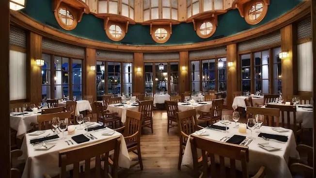 Yachtsman Steakhouse at Disney's Yacht Club Resort