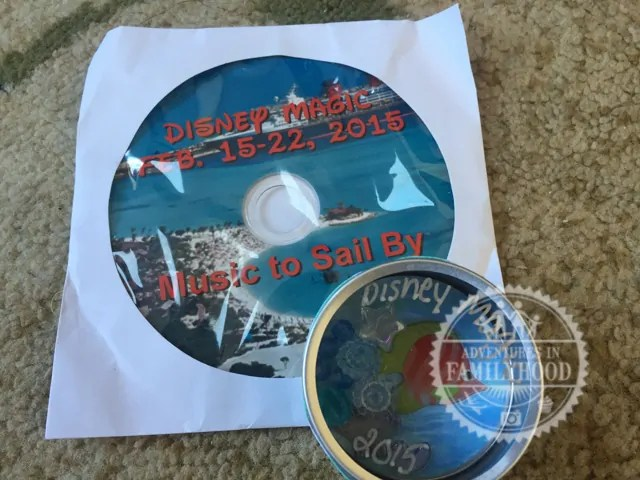 Music CD and magnet Disney Cruise Fish Extender Gift