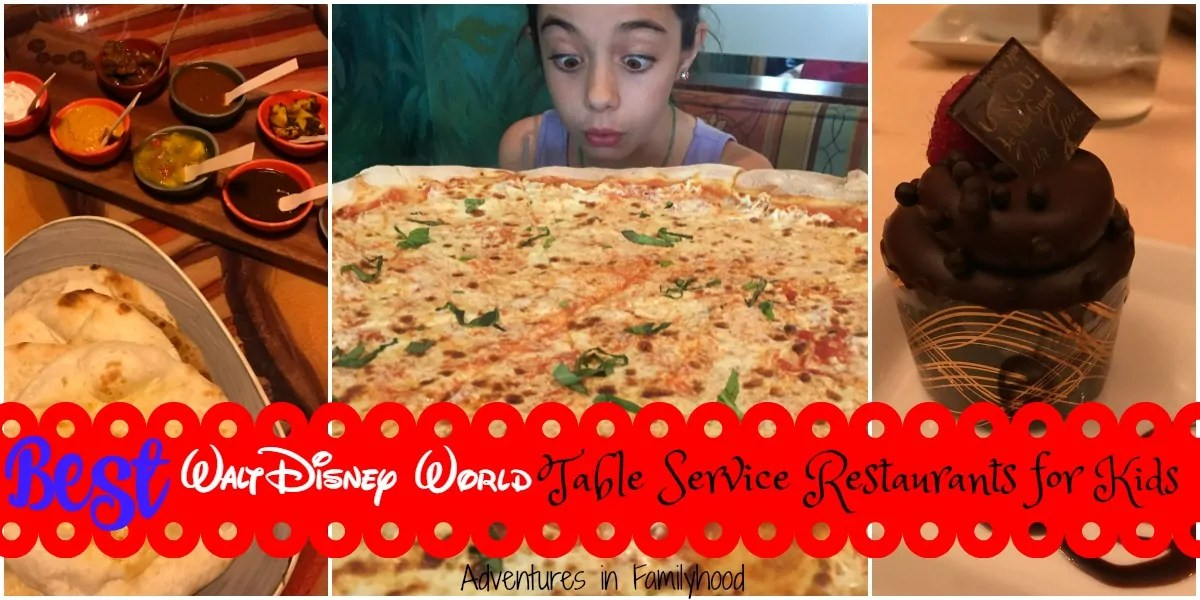 The Best Walt Disney World Table Service Restaurants For Kids - Walt disney world table service restaurants