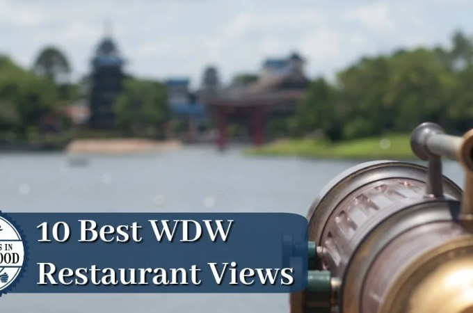 10 Best Walt Disney World Restaurant Views