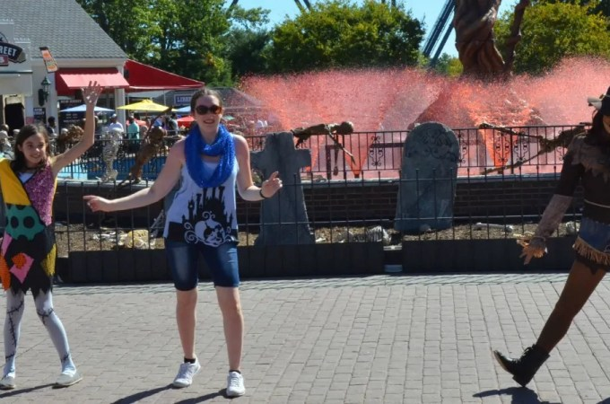 "Surviving ""Fright Fest"" with Kids at Six Flags Great Adventure"