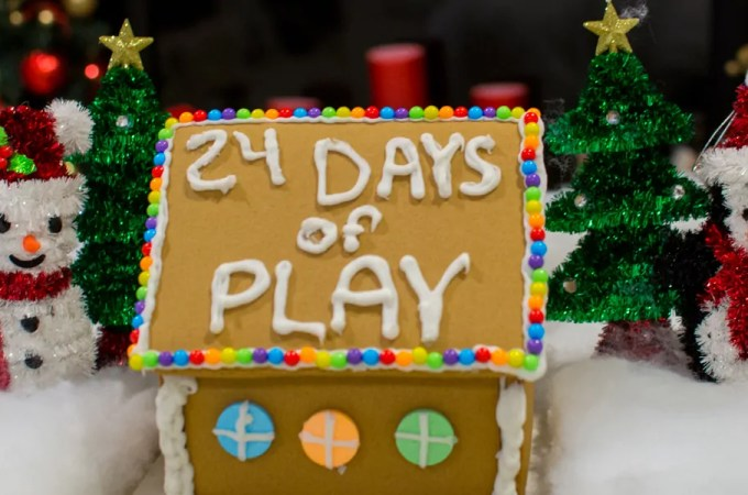 24 Days of Holiday Play