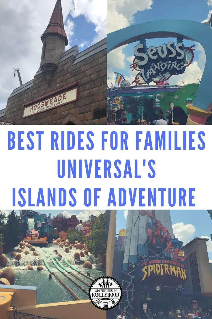 Best Rides for Families Universal's Islands of Adventure