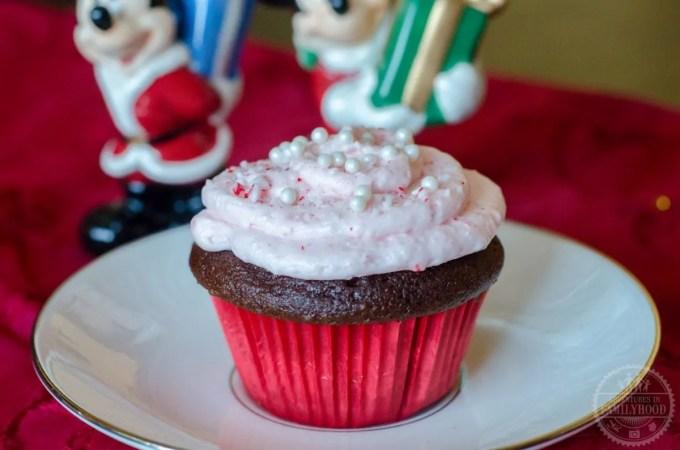 Peppermint Cupcakes Recipe | Walt Disney World Snacks