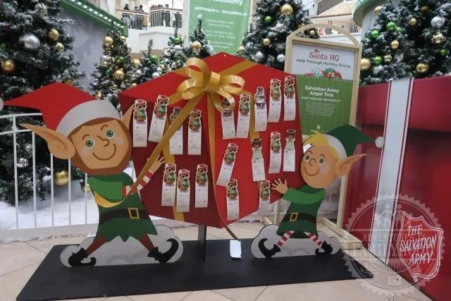 Donate Toys for those in need at Santa HQ by HGTV